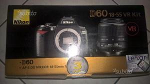 Nikon d60 + kit
