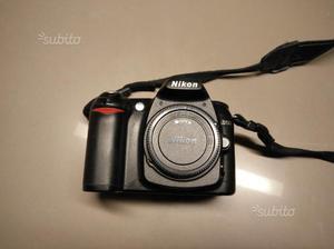 Nikon reflex D50 con obiettivo Nikkor  VR