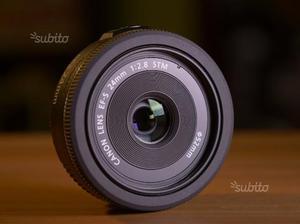 Obiettivo Canon EF-S 24mm f/2.8 STM pancake