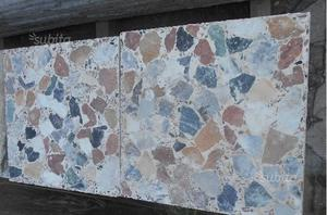 Mattonelle piastrelle graniglia anni 60 posot class - Piastrelle di graniglia ...