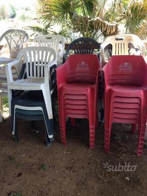 Tavoli E Sedie Per Esterno Bar Usati.Sedie Usate Stock Posot Class