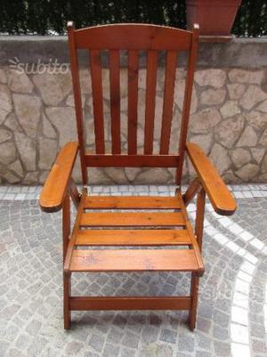 Vendo sedie giardino ferro e legno ottime posot class - Sedie giardino legno ...
