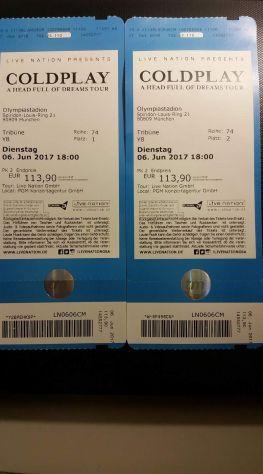 2 Biglietti Concerto COLDPLAY MONACO DI BAVIERA