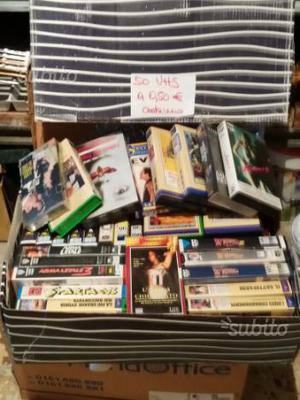 250 VHS film in cassetta forfait