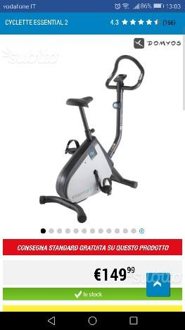 Cyclette Dechatlon NUOVA