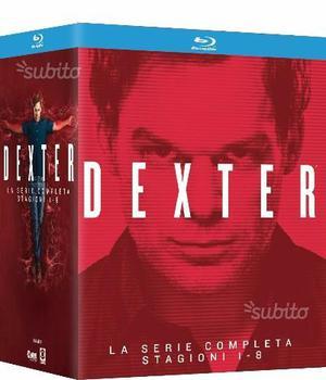 Dexter serie completa 32 Blu Ray [nuovo]