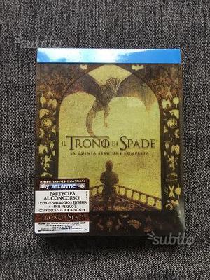 Il Trono di Spade Stagione 5 Blu-ray Nuovo