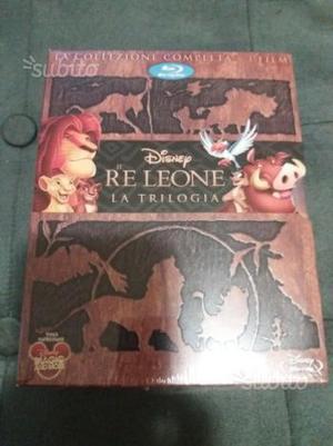 Re Leone trilogia in bluray