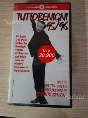 Tutto Benigni  VHS