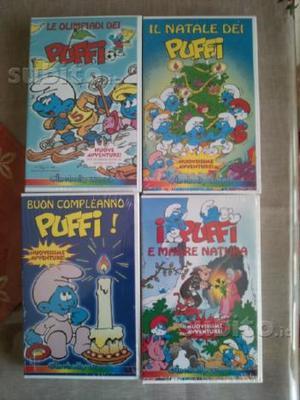 """VHS'originali' """"I PUFFI"""""""