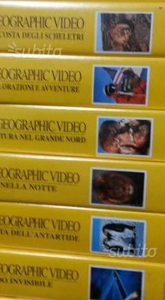 Vhs cassette video national geographic video