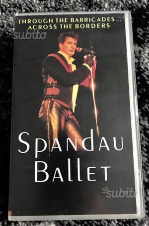 Vhs originale spandau ballet throught the barricad
