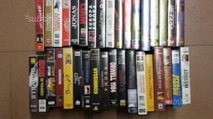 Videocassette vhs originali film vari
