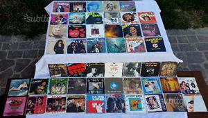 Blocco di 50 dischi vinile 45 giri