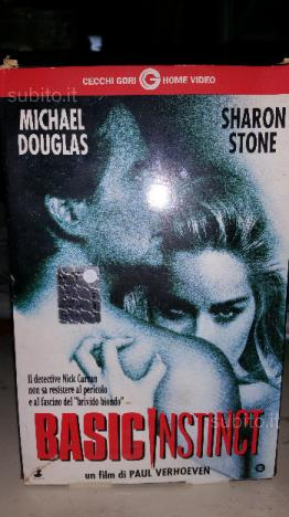 Cassetta VHS originale Basic Instinct