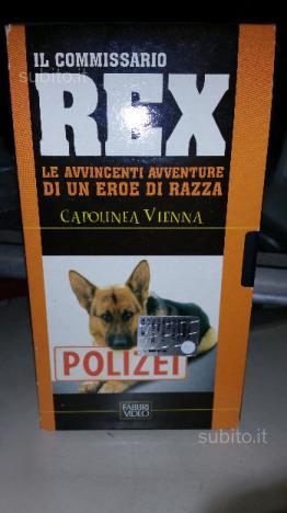 Cassetta VHS originale Il commissario Rex