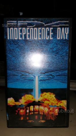 Cassetta VHS originale Indipendence Day
