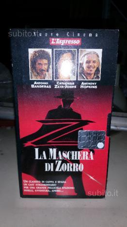 Cassetta VHS originale La maschera di zorro