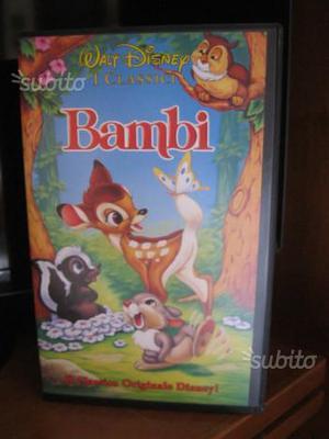 I Classici Walt Disney. 2 Films VHS originali