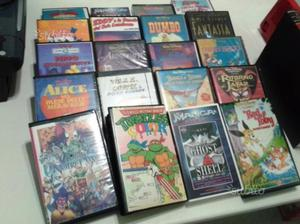 Lotto di Videocasette di film e cartoni varie;