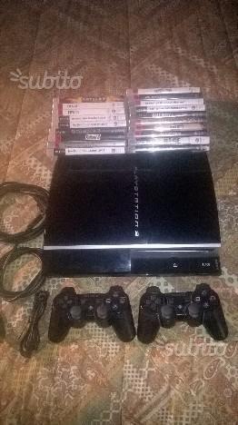 PS3 + 2 joypad + 10 Giochi