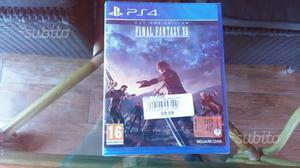 Ps4 Final Fantasy 15 nuovo chiuso Sigillato