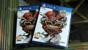 Ps4 Street Fighter 5 nuovo chiuso Sigillato