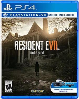 Resident Evil 7 PS4 C.e.r.c.o
