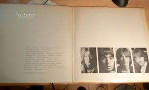 The Beatles White Album LP vinile originale