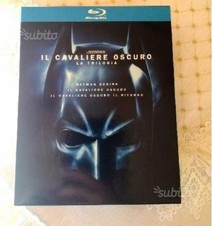 Trilogia bluray Batman-Cavaliere oscuro