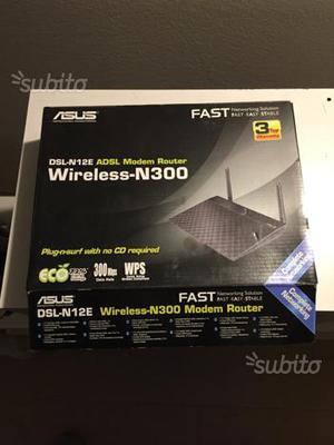Asus dsl n12e ADSL modem router N300 wireless
