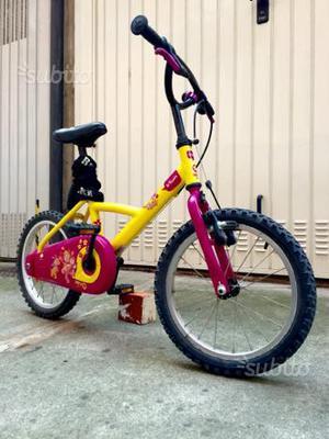 Bicicletta BTwin da bambino 4-6 anni