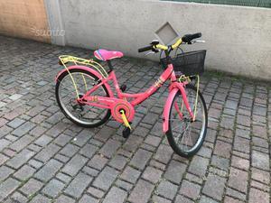 Bicicletta bambina taglia 24 marca regina 7 marce