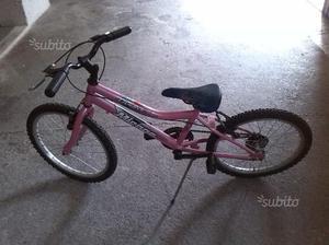 Bicicletta x bambina 20pollici