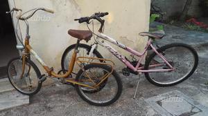 Due bici, Graziella e Mountain bike