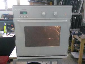 Forno a gas ventilato incasso con grill elettrico posot - Forno elettrico ventilato da incasso ...