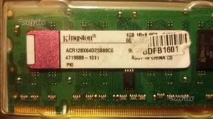Notebook Memoria RAM SODIMM