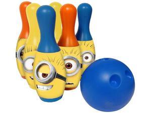 Bowling Minions giocattolo Set 6 pezzi con palla
