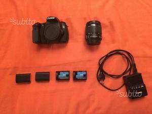 Canon EOS 60D + Canon EFS mm