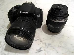 Canon EOS 700D + 2 Ob. Canon + flash
