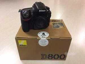Nikon D800 nital ( scatti)
