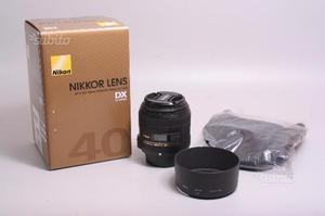 Obiettivo nikon af-s 40 mm f/2.8 g micro dx