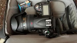 Reflex Nikon d90 con zoom