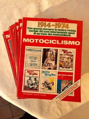 Rivista Motociclismo anno  numeri + numero speciale