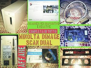 Scanner per diapositive minolta dimage