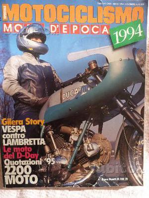 Ducati SS 750/Vespa/Lambretta Motociclismo Epoca