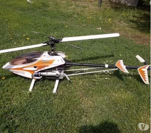Elicottero A Scoppio Radiocomandato : Elicottero drone rotobot ghz ir posot class