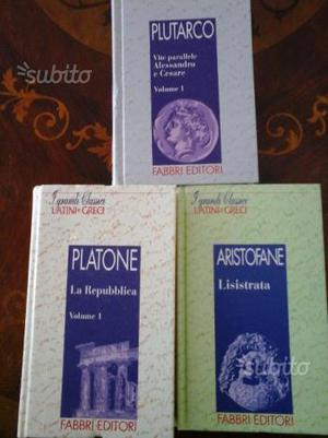 I grandi classici latini e greci