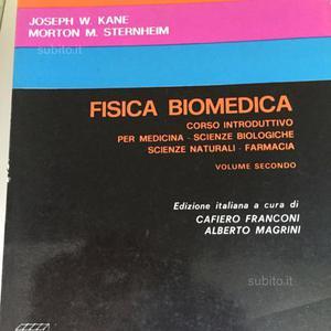 Libro farmacia di fisica biomedica kane sternheim