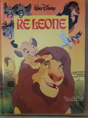 Libro per ragazzi Walt Disney: IL RE LEONE Ed. Mon